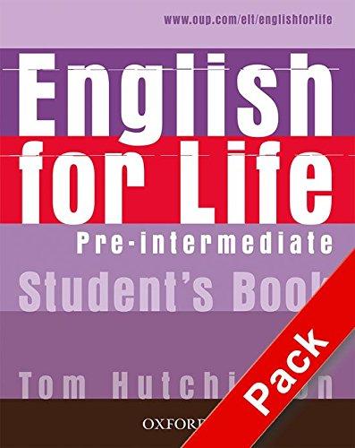 English for Life Pre-Intermediate. Student's Book + multi-ROM