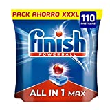 Finish Powerball All in 1 Max - Pastillas para el lavavajillas todo en 1 - formato 110 unidades