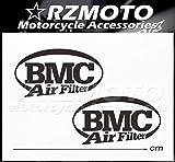 BLOUR Pegatina Nuevo RZMOTO Motocicleta Coche Ruedas Pintura Calcomanía Logo Pad Carenado Racing para BMC Filtro DE Aire