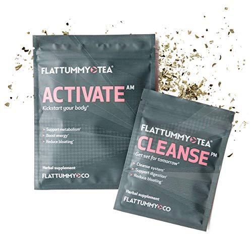 Flat Tummy Tea 2-Week Detox Herbal Tea to Help Kick That Bloated and Sluggish Feeling 1 - My Weight Loss Today
