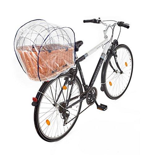 Tigana Regenhaube Regenschutzhaube für Hundefahrradkörbe in XL und XXL