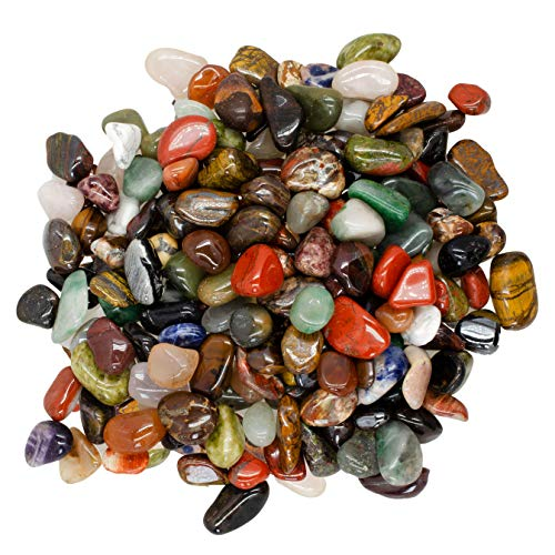 Hypnotic Gems Materials: 3 lbs Rare Assorted Stone Mix from...