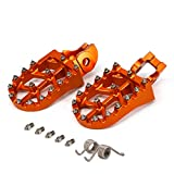 JFG RACING Moto Offroad CNC Pied Pegs Pédales Repose-pieds pour 85-530 SX SXF EXC EXCF XCF XCW...
