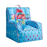 DreamWorks Trolls Kids Nylon Bean Bag Chair with Piping & Top Carry Handle