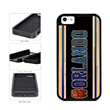 BleuReign(TM) Basketball Team Hashtag Orlando #Orlando 2-Piece Dual Layer Phone Case Back Cover for Apple iPhone 5 5s