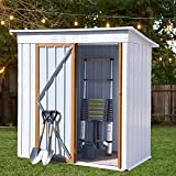 Outdoor Shed 5 x 3 FT Outdoor Storage Sheds,Metal Sheds Outdoor...