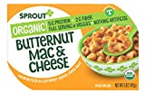 Sprout Organic Toddler Meal Butternut Mac and Cheese Macaroni Pasta In A Butternut Squash, Cheese Sauce 5 oz. (Pack of 8)