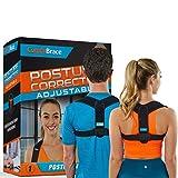 Comfy Brace Posture Corrector-Back Brace for Men and Women- Fully Adjustable Straightener for Mid,...