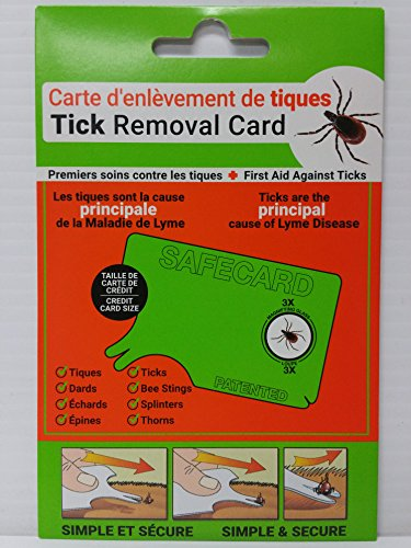 Tick Removal Card