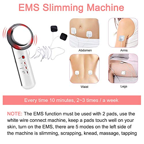 Fat Burn Machine 3 in 1 Weight Loss Machine Multifunctional Body Shaping Massager for Stomach Arm Leg Hip Portable Skin Care Device 5