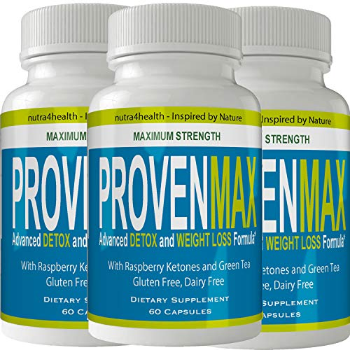 Proven Max Weight Loss Pills (3 Bottle Pack) Advanced Diet Supplements Loss Keto Burn Capsules Extra Strength Metabolism Supplement 1
