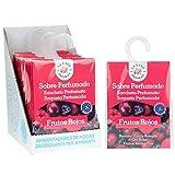 Set de 12 Sobres Perfumados, Bolsitas Aromáticas de Frutos Rojos, Saquitos para...