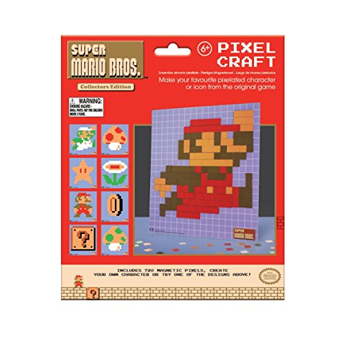 Paladone Super Mario Bros Pixel Craft