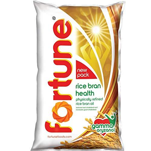 Fortune Rice Bran Health Oil, 1l Pouch