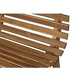 Siena Garden 2er Bank Santana, 67,5x140x92,5cm, Akazienholz, geölt in natur, FSC 100% - 9