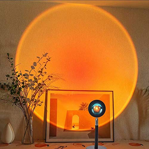 Sunset Projection Lamp, Night Light Projector Led Lamp, Romantic Led...