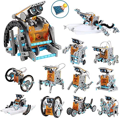 OFUN Juguete Robot Stem para niños, 12 in 1 Robots Kit de...