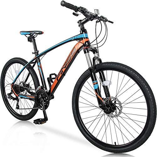 Merax 26' Mountain Bicycle with Suspension Fork 24-Speed...