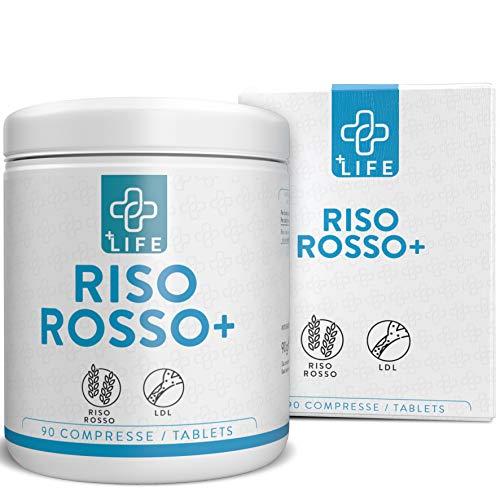 Riso Rosso Fermentato K10 PiuLife® ● 90 Compresse da 667 mg di Riso Rosso per Colesterol+ con 10mg Manacolina K ● Integratore Colesterolo ● Riso Rosso Fermentato, Berberol k