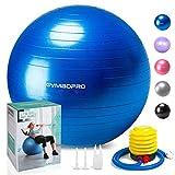 GYMBOPRO Ballon de Gymnastique, Balle de Fitness,Ballon d'exercice avec...