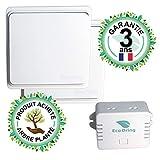EcoDring Kit va et Vient Moderne : 2 Interrupteurs sans Fil sans Pile + 1...