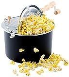 Franklin's Original Whirley Pop Stovetop Popcorn Machine Popper....