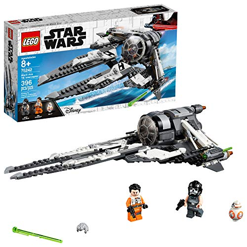 LEGO Star Wars Resistance Black Ace TIE Interceptor 75242 Building Kit (396 Pieces)