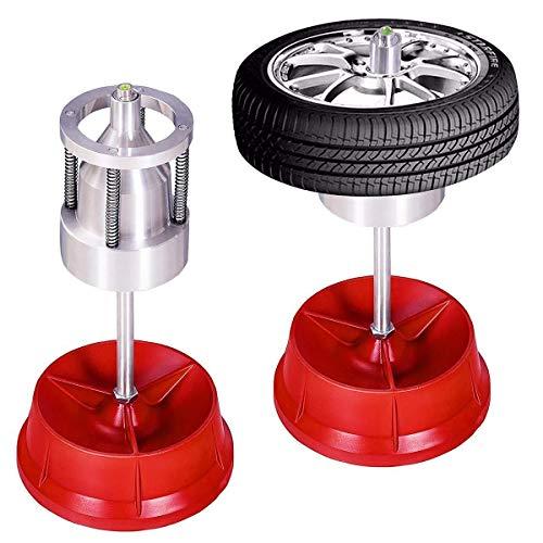 MXBIN Tragbare Naben Räder Reifenwuchtmaschine Wasserwaage Hochleistungsfelge Autoreifen Auswuchtmaschine Autoreifen Auswuchtmaschine Neue Ersatzteildekoration