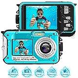 Appareil Photo Etanche Full HD 2.7K Camescope Numerique 48 MP Enregistreur Vidéo Selfie Appareil...