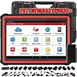 LAUNCH X431 PRO3S+ 2021 Bi-Directional Automotive Scan Tool,31+ Relearn Service All System Diagnostic Scanner,Key Program,Online Coding,Guided Function,AutoAuth,Free Update