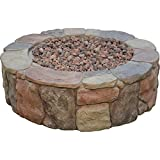 Bond Manufacturing 67456 Pinyon Gas Fire Pit, 28 by 28 by 9.1', Stone Look
