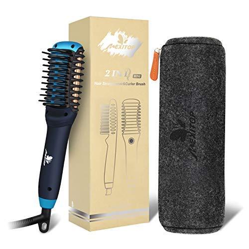 11. Mexitop Hair Straightener Curler, Beard Straightener for Men