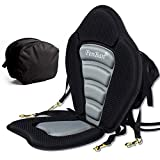 penban Deluxe Padded Kayak Seat Fishing Boat Seat with Storage Bag,Detachable Universal Paddle-Board Seat,Adjustable Paddle Board Seat,Fitting Design for All Body Sizes