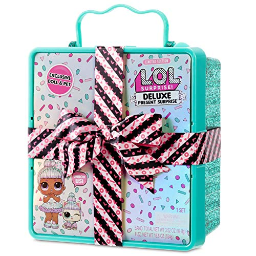 Image 4 - LOL Surprise Poupée Miss Partay Doll et son animal de compagnie - A la mode, Fizzy Surprises & Accessoires - Deluxe Present Surprise