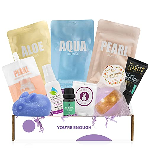 Cruelty-Free Mother's Day Bath Body & Spa Gifts Box - Bath...