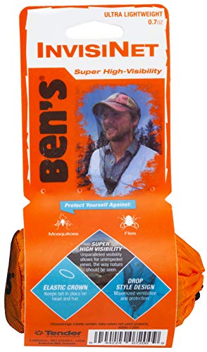 Ben's InvisiNet Mosquito, Tick & Insect Repellent Head Net