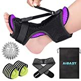 2020 New Upgraded Purple Night Splint for Plantar Fascitis, AiBast Adjustable Ankle Brace Foot Drop...