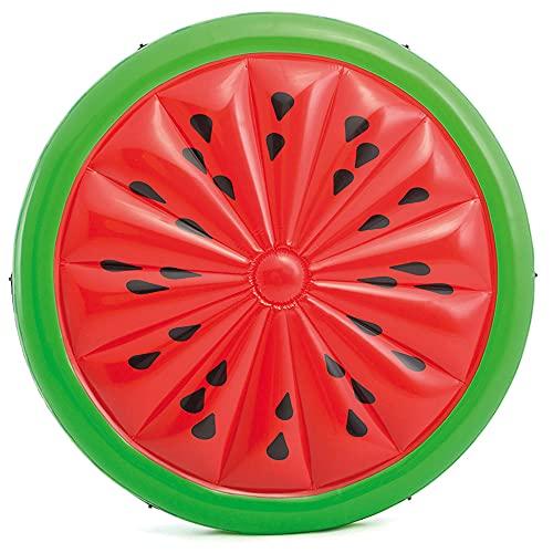 Intex 56283EU - Colchoneta hinchable con forma de sandía 183 x 23 cm