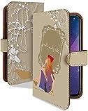 iPhone11Pro Max ケース 手帳型 携帯ケース 魔女の宅急便 茶 キキ ジジ おしゃれ アイフォン ……