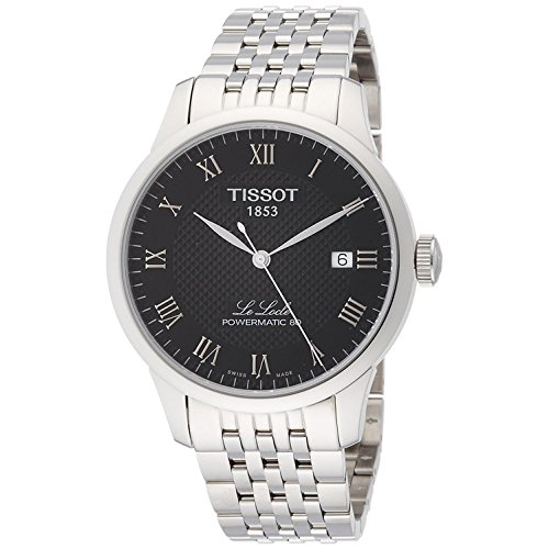 TISSOT Herren Analog Automatik Uhr mit Edelstahl Armband T0064071105300