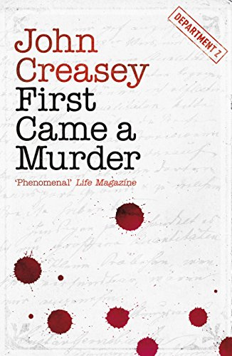 First Came a Murder (Department Z Book 3) (English Edition)