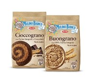 Mulino Bianco Biscotti Frollini Integrali + Biscotti Buongrano con 100% Farina Integrale