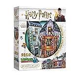 Wrebbit 3D- Tienda de Sortilegios Weasley y Oficina del Diario El Profeta Puzzle 3D, Multicolor (W3D-0511)