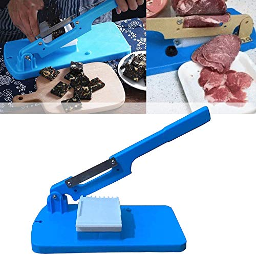 Affettatrice da tavolo multifunzionale, Grattugia portatile per frutta e verdura da cucina, Affettatrice manuale per carne, patate, pane e prosciutto