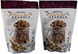 Organic Gluten Free Fruit and Seed Granola - Trader Joe's Vegan Breakfast Cereal with Coconut Cranberries and Raisins