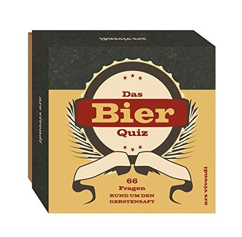 Bier-Quiz (Neuauflage) - 66 unterhaltsame Fragen rund um den Gerstensaft - Das perfekte Partyspiel...