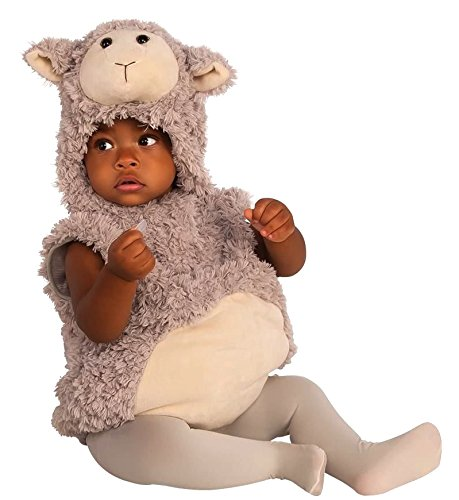 Rubie's Baby Lamb Costume, As Shown, Toddler