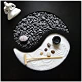 Agorà Import Giardino Zen Yin Yang 30x30x1 cm