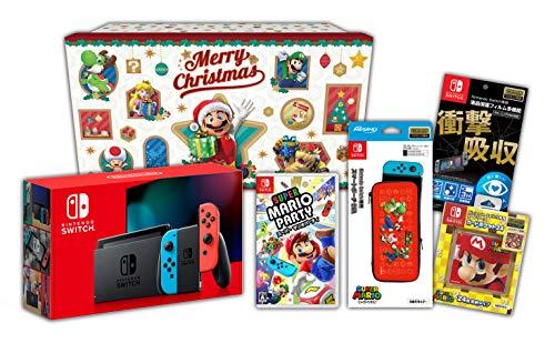 【Amazon.co.jp限定】<ニンテンドースイッチ ホリデーギフトセット>スーパー マリオパーティ+Nintendo Swit...