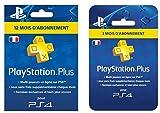 Contenu : 1 PlayStation Plus Card - Abonnement 12 Mois 1 PlayStation Plus Card - Abonnement 3 Mois